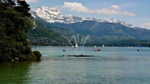 Lac Annecy Tournette Montagne